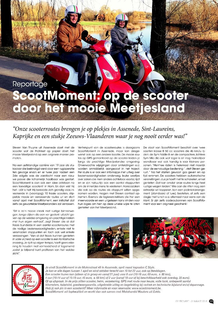scooter verhuur meetjesland