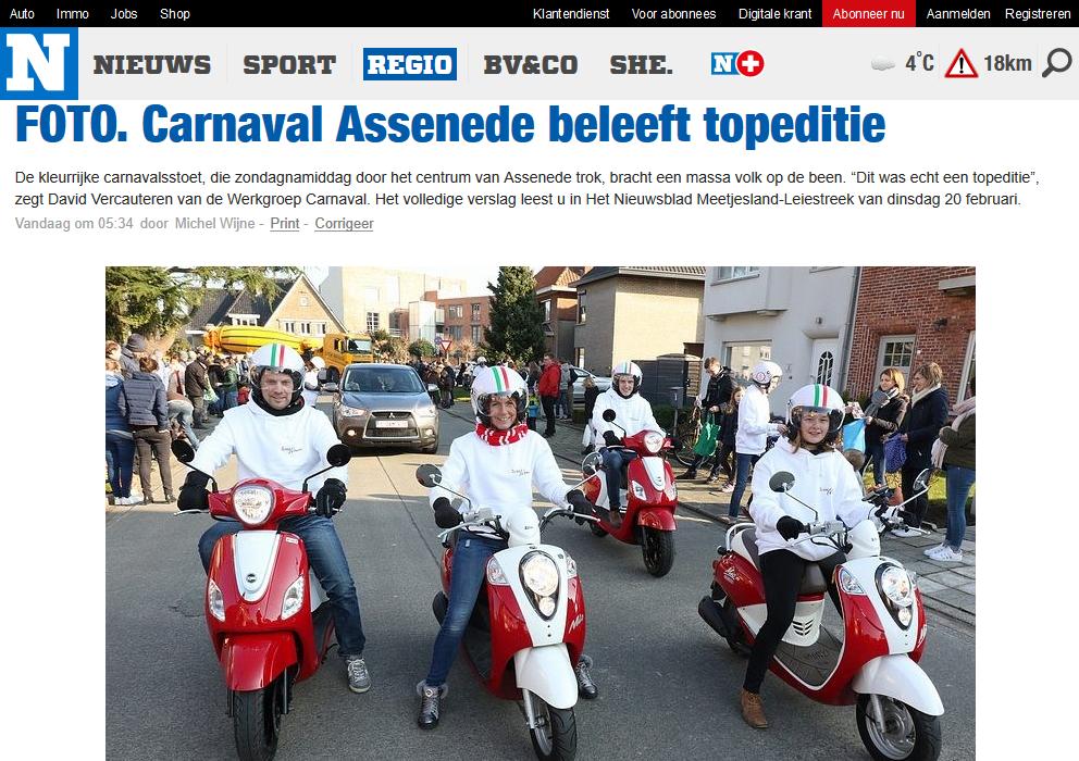 scooter huren assenede